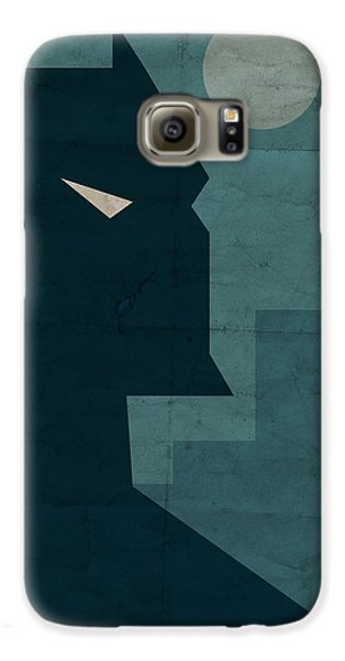 The Dark Knight Galaxy S6 Case by Michael Myers