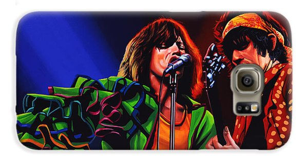 Rock And Roll Galaxy S6 Case - The Rolling Stones 2 by Paul Meijering
