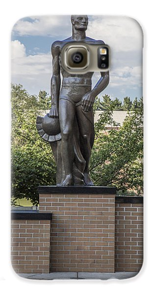 The Spartan Statue At Msu Galaxy S6 Case by John McGraw