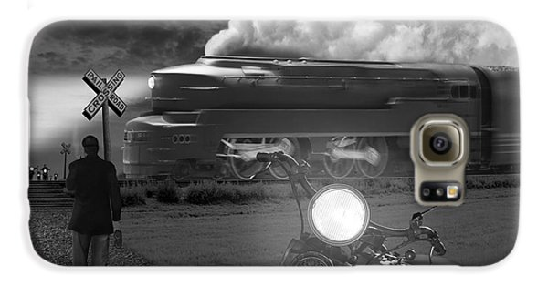 Motorcycle Galaxy S6 Case - The Wait by Mike McGlothlen