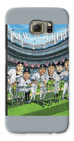 New Yorker April 8th, 2013 Galaxy S6 Case