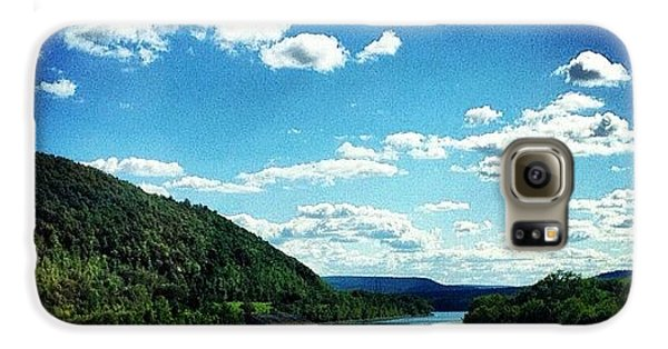 Blue Galaxy S6 Case - Upstate Ny by Mike Maher