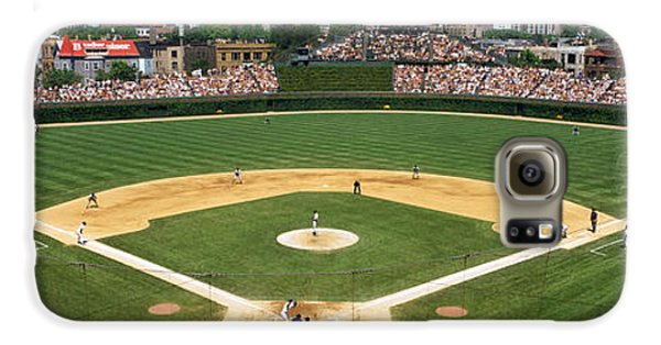 Wrigley Field Galaxy S6 Case - Usa, Illinois, Chicago, Cubs, Baseball by Panoramic Images