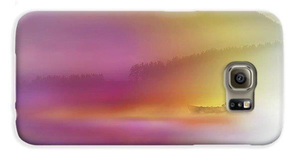 Colours Galaxy S6 Case - Watercolor Seascape by Heidi Westum