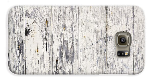 Weathered Paint On Wood Galaxy S6 Case by Tim Hester