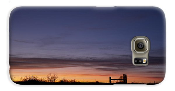 West Texas Sunset Galaxy S6 Case