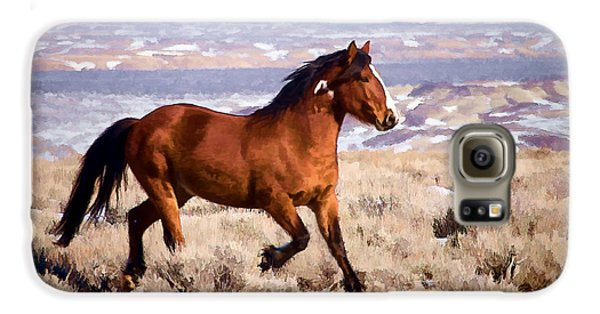 Eagle - Wild Horse Stallion Galaxy S6 Case