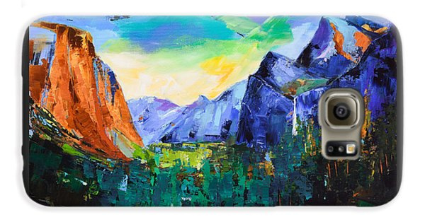 Yosemite Valley - Tunnel View Galaxy S6 Case