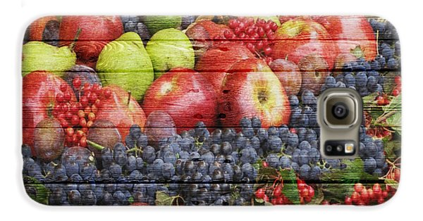 Fruit Galaxy S6 Case by Joe Hamilton