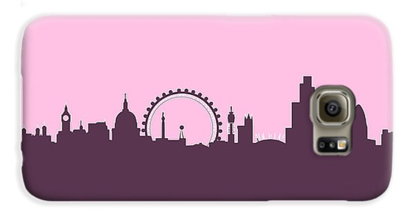 London Skyline Galaxy S6 Case - London England Skyline by Michael Tompsett