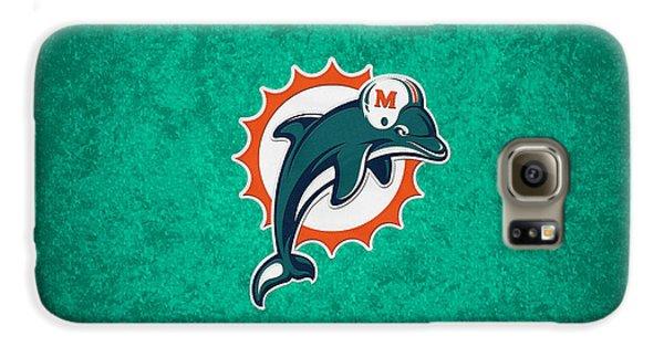 Miami Dolphins Galaxy S6 Case by Joe Hamilton