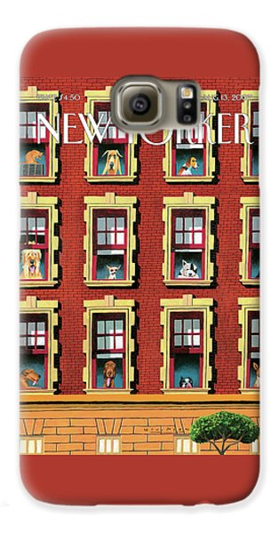 New Yorker August 13th, 2007 Galaxy S6 Case