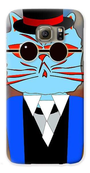 Cool Cat Galaxy S6 Case