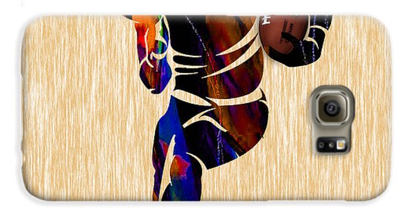 Football Galaxy S6 Case by Marvin Blaine