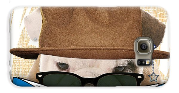 Bulldog Collection Galaxy S6 Case by Marvin Blaine