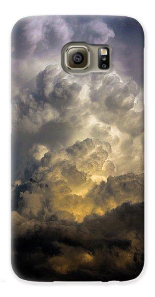 Nebraskasc Galaxy S6 Case - Late Afternoon Nebraska Thunderstorms by NebraskaSC