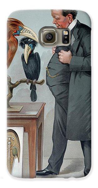 Hornbill Galaxy S6 Case - 1905 Edwin Ray Lankester Zoologist by Paul D Stewart