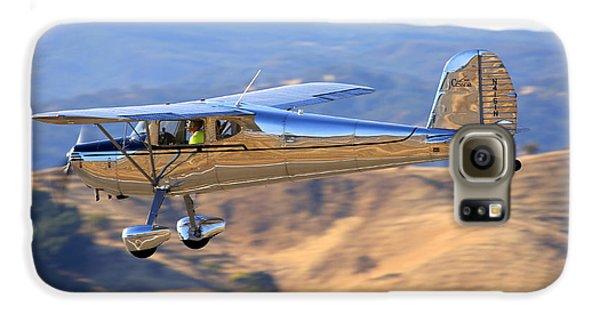 1947 Cessna 140 Fly-by N4151n Galaxy S6 Case