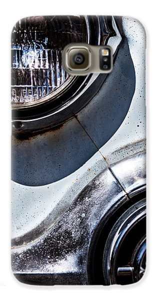 1953 Chevy Headlight Detail Galaxy S6 Case by  Onyonet  Photo Studios