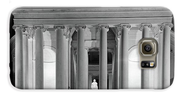 1960s Thomas Jefferson Memorial Lit Galaxy S6 Case