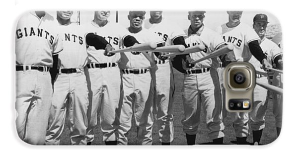 Baseball Players Galaxy S6 Case - 1961 San Francisco Giants by Underwood Archives