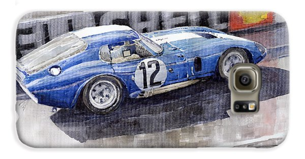 1965 Le Mans  Daytona Cobra Coupe  Galaxy S6 Case by Yuriy Shevchuk