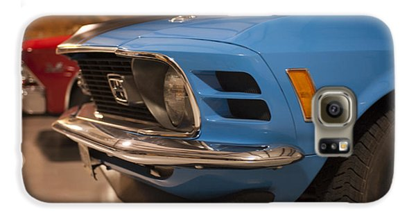 1970 Mustang Mach 1 And Other Classics Hidden In A Garage Galaxy S6 Case