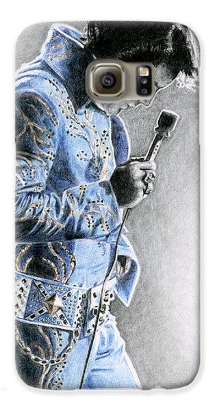 1972 Light Blue Wheat Suit Galaxy S6 Case by Rob De Vries