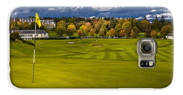 Prints For Sale Kings Golf Course Gleneagles Galaxy S6 Case