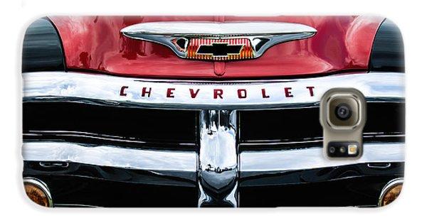 1955 Chevrolet 3100 Pickup Truck Grille Emblem Galaxy S6 Case