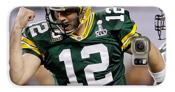 Aaron Rodgers Galaxy S6 Case by Marvin Blaine