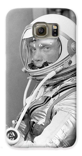 Astronaut John Glenn Galaxy S6 Case by War Is Hell Store