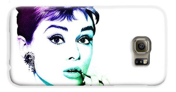 Audrey Hepburn Galaxy S6 Case by Marianna Mills