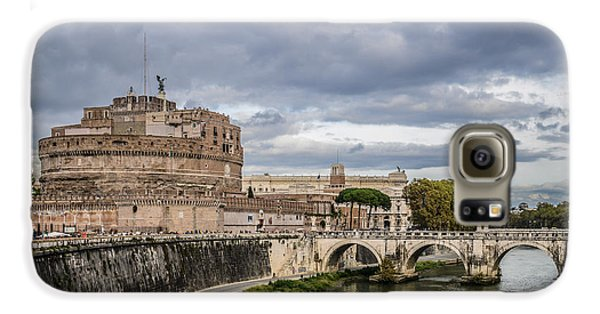 Castle St Angelo In Rome Italy Galaxy S6 Case