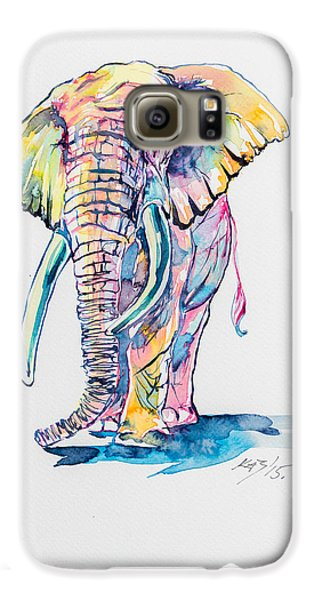 Colorful Elephant Galaxy S6 Case