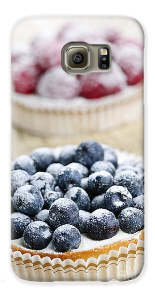Fruit Tarts Galaxy S6 Case by Elena Elisseeva