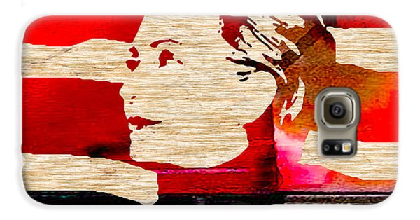 Hillary Clinton Galaxy S6 Case by Marvin Blaine