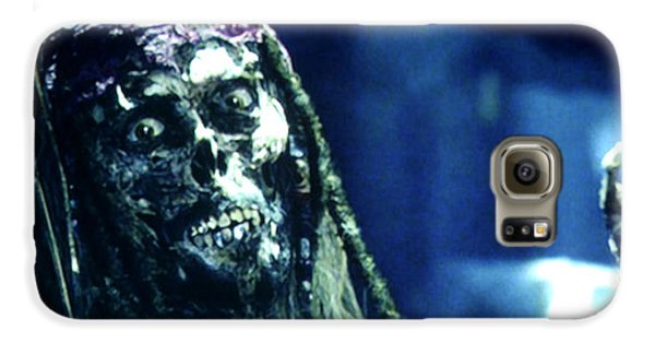 Jack Sparrow Galaxy S6 Case by Jack Hood