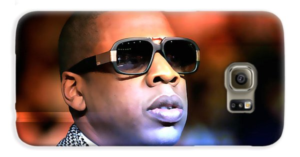 Jay Z Galaxy S6 Case by Marvin Blaine