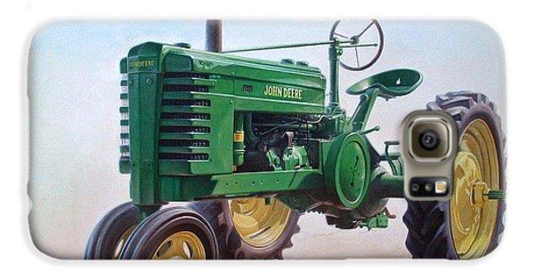 John Deere Tractor Galaxy S6 Case