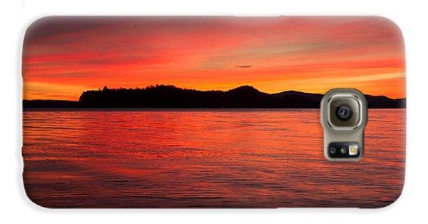 Lake Winnipesaukee Galaxy S6 Case