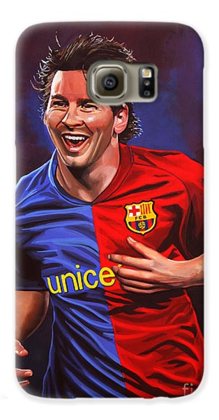 Lionel Messi  Galaxy S6 Case