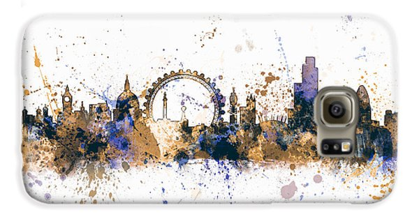 London Galaxy S6 Case - London England Skyline by Michael Tompsett