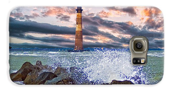 Morris Island Lighthouse Galaxy S6 Case by Bill Barber