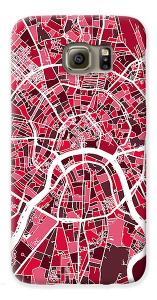 Moscow City Street Map Galaxy S6 Case