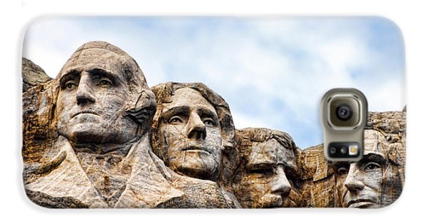 Mount Rushmore Monument Galaxy S6 Case by Olivier Le Queinec