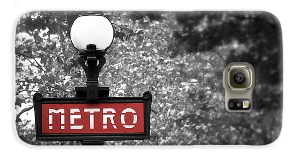 Paris Metro Galaxy S6 Case