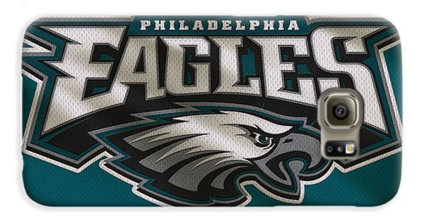 Philadelphia Eagles Uniform Galaxy S6 Case by Joe Hamilton