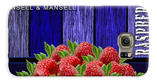 Raspberry Fields Galaxy S6 Case by Marvin Blaine