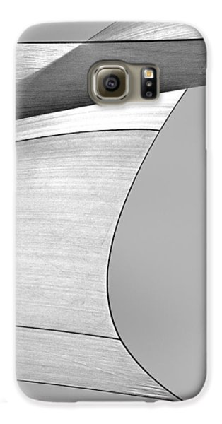 Sailcloth Abstract Number 4 Galaxy S6 Case by Bob Orsillo